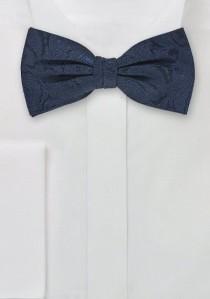 Schleife Paisley-Muster marineblau marineblau