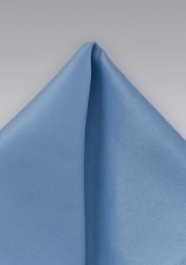 Ziertuch Poly-Faser eisblau