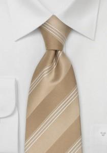 Herrenschleife unifarben perlweiß italienische