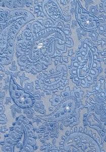 Optimale Kravatte Paisley-Motiv perlmuttfarben perlmuttfarben