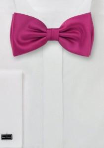 Fliege Kunstfaser pinkfarben