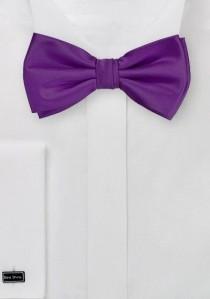 Herrenfliege Kunstfaser lilafarben