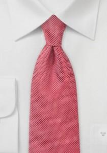 Krawatte Gitter-Oberfläche mittelrot