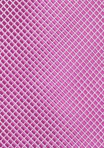 Krawatte Waffel-Oberfläche pinkfarben