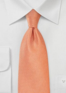 Krawatte Netz-Struktur lachsfarben