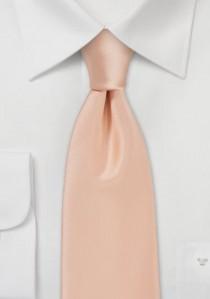 Exzellent Krawatte in apricot