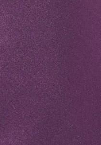 Businesskrawatte einfarbig Mikrofaser brombeer