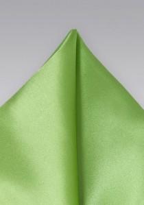 Ziertuch italienische Seide unifarben edelgrün