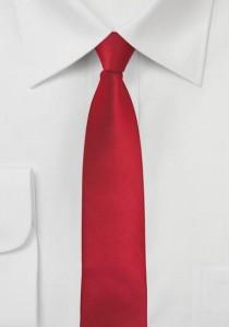 Moulins Mikrofaser Krawatte Red-Pepper schmal