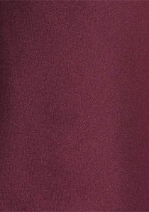 Auffallende Krawatte sherryrot Mikrofaser
