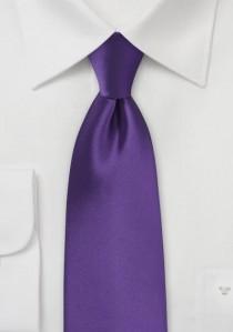 Markante Krawatte violett Poly-Faser