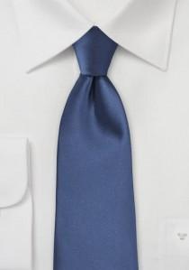 Modische Kravatte royalblau Kunstfaser