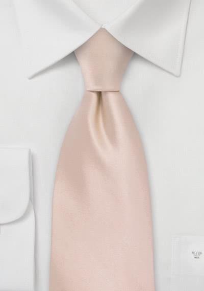 Modische Krawatte in rosé