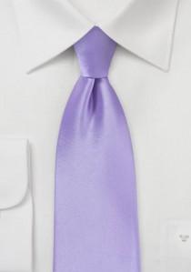 Markante Krawatte flieder Kunstfaser