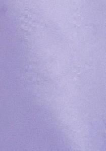 Markante Herrenkrawatte zartviolett Poly-Faser