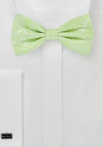 Fliege Ranken-Muster hellgrün