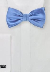 Herren-Schleife strahlendes blassblau Poly-Faser