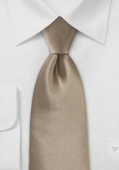 Limoges Krawatte modisches Cappuccino-Braun