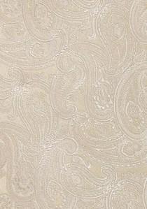 Einstecktuch blumiges Pattern sandfarben