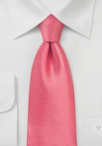 Krawatte Netz-Oberfläche erdbeerrot