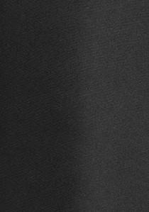 Festliche schwarze Seidenkrawatte