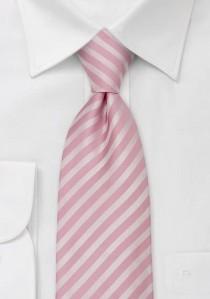 Granada Mikrofaser Krawatte dezentes rosé