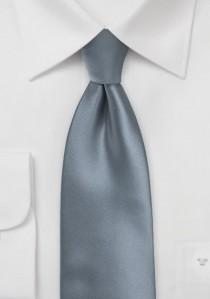 Businesskrawatte einfarbig grau