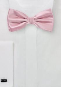 Herrenfliege monochrom rosa