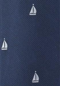 Herrenkrawatte Segelschiffe navy