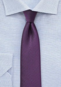 Krawatte monochrom violett