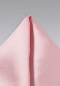 Einstecktuch Kunstfaser rosé
