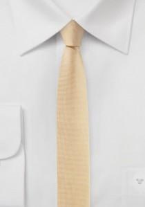Krawatte extra schlank lachsfarben