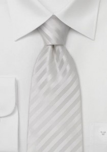 Granada Krawatte einfarbig weiß