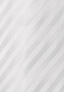 Granada Microfaser Krawatte weiß