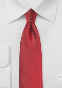 Markante Krawatte strukturiert rot
