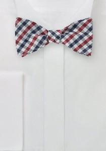 Krawatte Paisleys braun und königsblau schmal