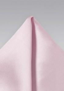 Einstecktuch Poly-Faser zartrosa