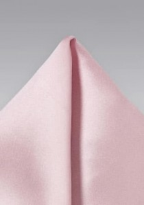 Einstecktuch unifarben rosa