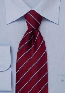 Moulins Mikrofaser Krawatte in Champagnerton