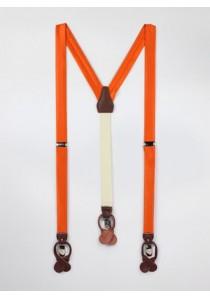 Hosenträger kupfer-orange
